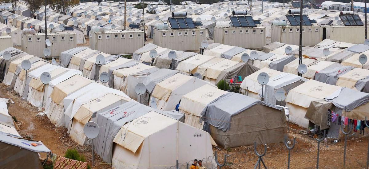 A general view of Nizip refugee camp, near the Turkish-Syrian border in Gaziantep province, Turkey, November 30, 2016. (Reuters)